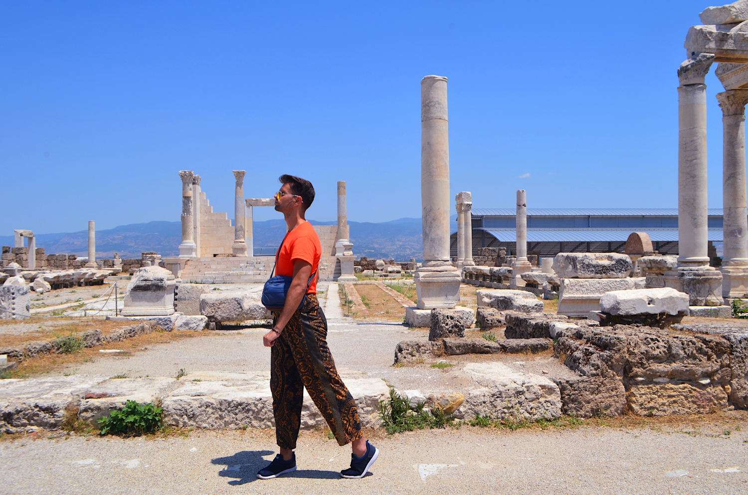 In Laodicea, they were famous for producing shiny black wool unique to this city. A fashion hub at the time.