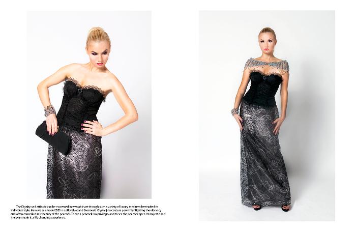 j-na couture nube orchidea editoriale couture cristalli Swarovski responsabilizzazione mini-avvolgere francese corsetto di pizzo europea.