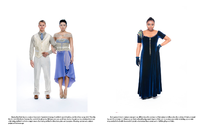 j-na editorial in Cloud Orchid Mag plus size beauty in empowerment.