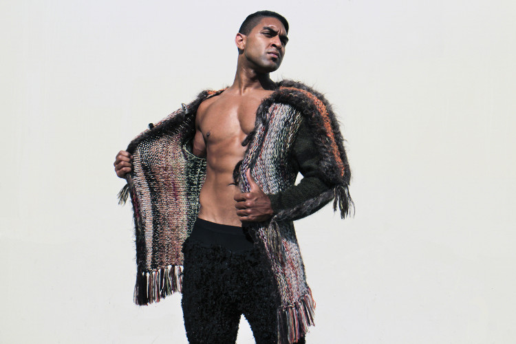 The compassion is also expressed in masculine nobility through a clean conscience of wearing non-cruelly fur of the GSb Men's Couture custom wool and alpaca coat.