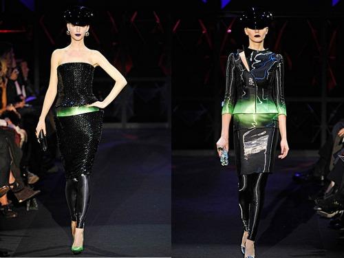 Armani Prive innovation future haute couture
