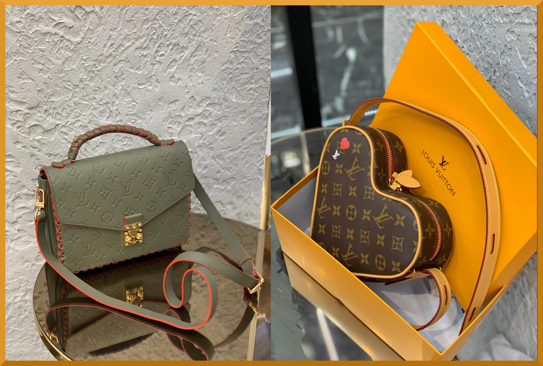 Unique Louis Vuitton Bags. The heart shaped bag has stolen mine.