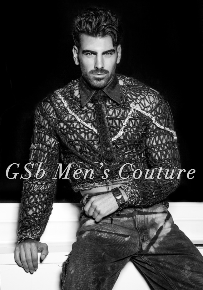 Nyle Dimarco tells all on communication, deaf culture, the arts, charity, wearables, and what is next. He is in his GSb Men's Couture Smartwears.