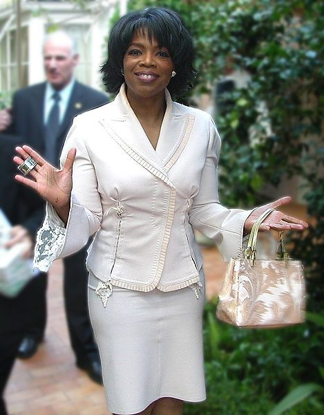 Oprah appearance at the white house