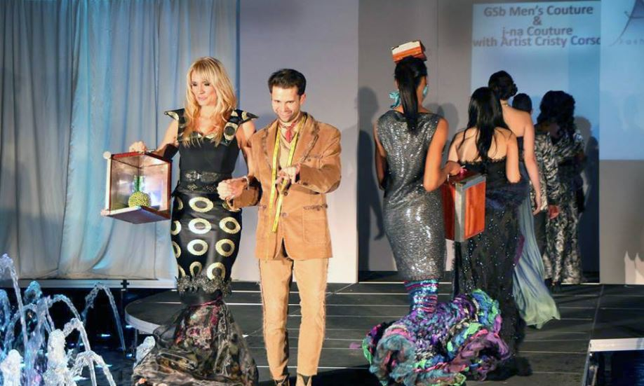 The Atlantic City fashion Week Finalle with Corso Studios and J-na couture.