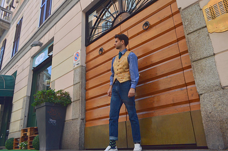 Estilista de Cal Garcia Taylor con evaluación de personalidades basada en ropa de streettyle.