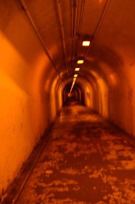 Tunnel di libertà in modo espressione GSB uomini editoriale.