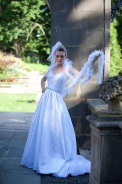 Bridal fantasy tulle boa!