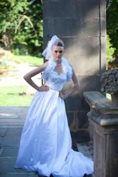 Bridal Fantasy fur stole