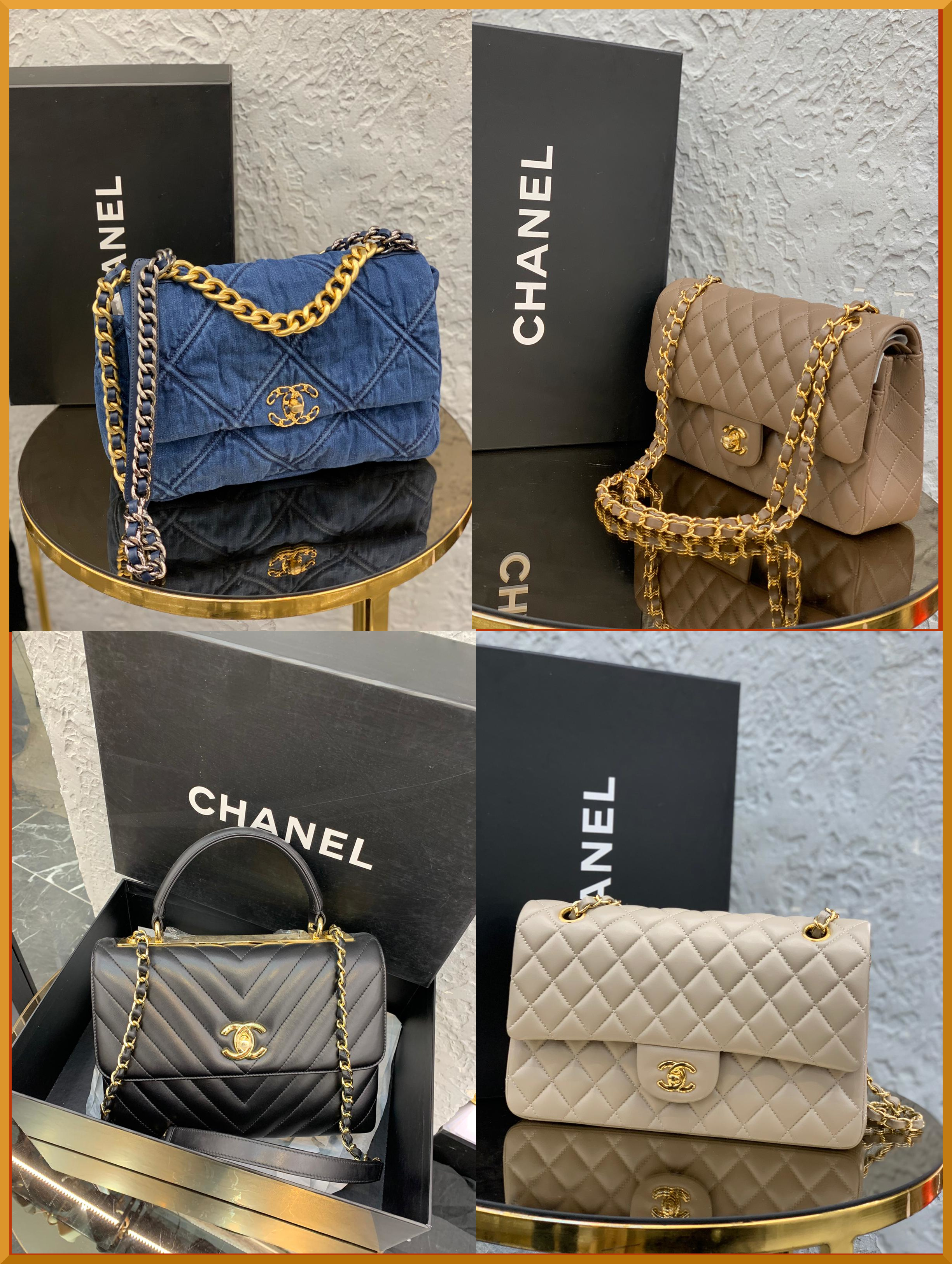 Chanel is classic and iconic yet new for every season. Chanel does young and trendy denim handbags and more serious and mature bags all the same.