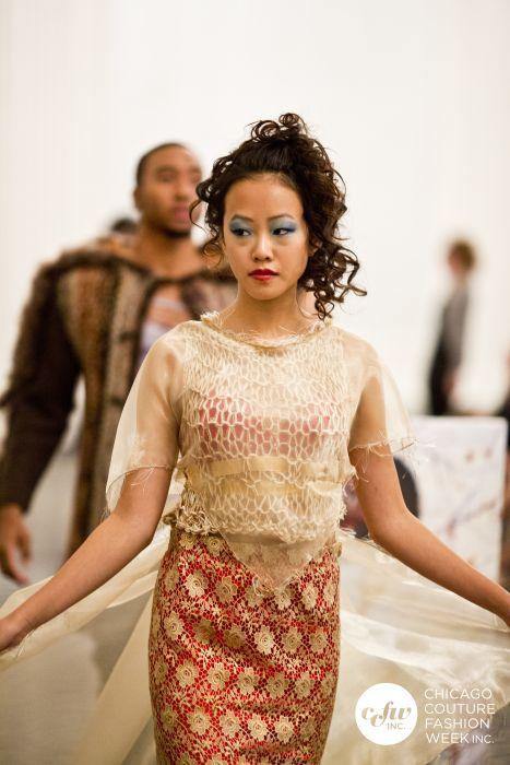 j-na costura pista inspiración india asiática de fusión francés mexicano culturales.