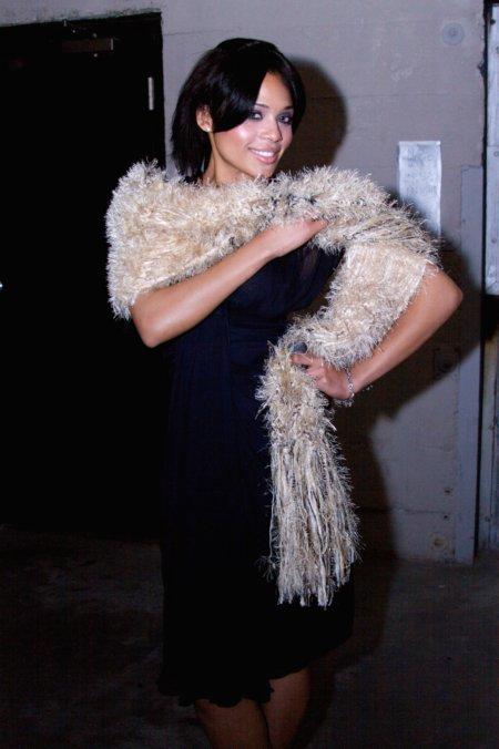 abrigo y chal de alta costura j-na 201