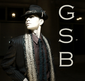 GSb Signature Fur Stripe on a fine wool and silk couture scarf.