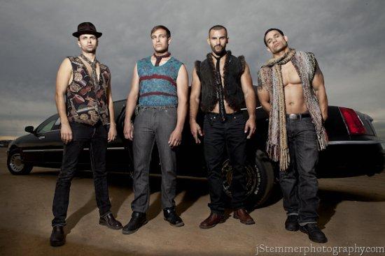 para hombre haute couture para hombres, 2012 chalecos de piel hanknit y seda y cuero