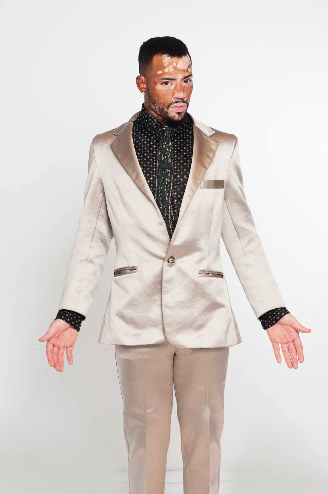 The couture suit that the silver surfer would wear as he gives his wise discourse on the future of humanity. Wear custom fashions that make you comfortable is your own skin.