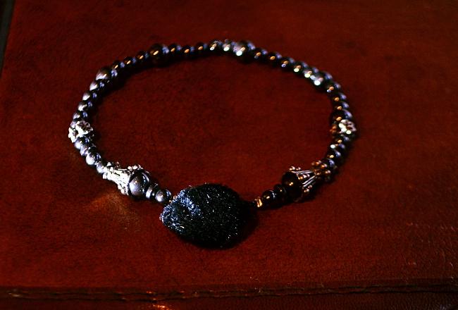Hematite Stone Men's Luxury Dapper Wristwear. Wearable Technology SMartwears for global charity and local impact.