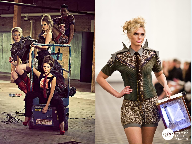 Fusiones del futuro con el passado. Nos encanta hacer ropa de esta gira aqui en J-na couture wearables.