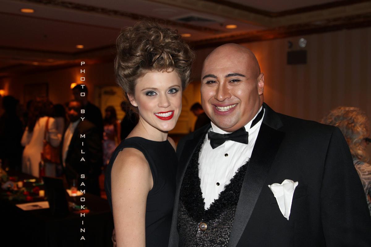 Cantante d'Opera Benjamin de Los Monteros en GSb Men's Couture Vest.