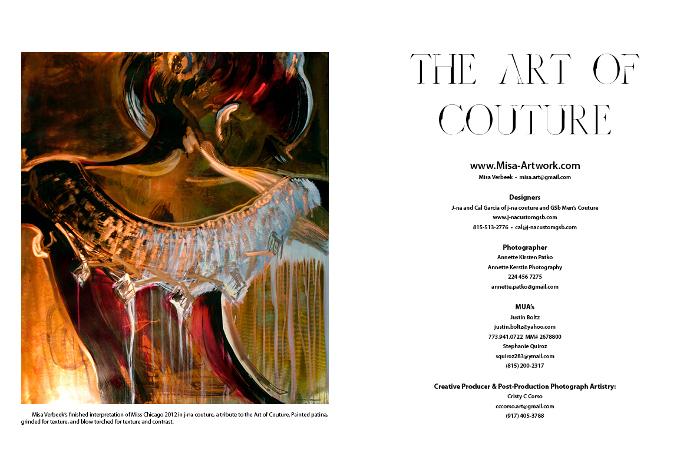 Cloud Orchid j-na couture e GSB Men Couture Editoriale. L'arte della Couture empowerment.