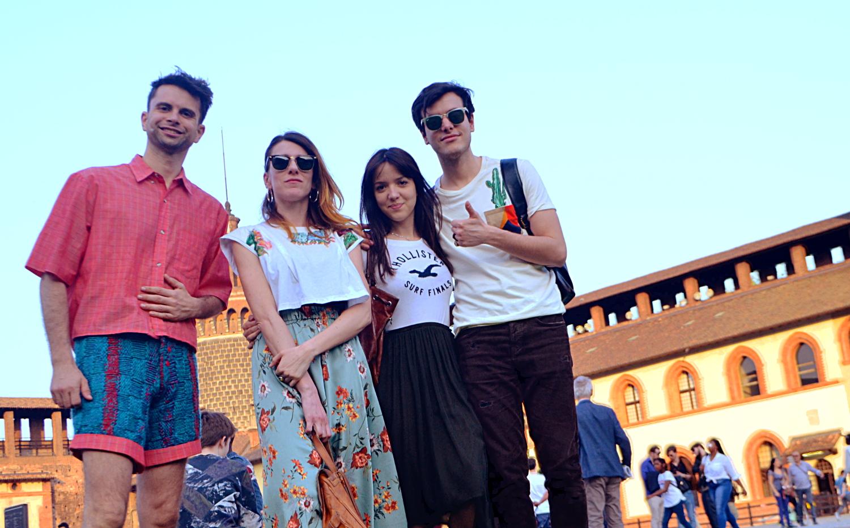 Paseo en Milano GSB Men's Couture.