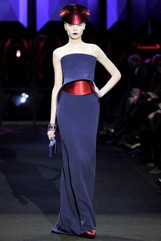 Armani Prive the future of nautical haute couture