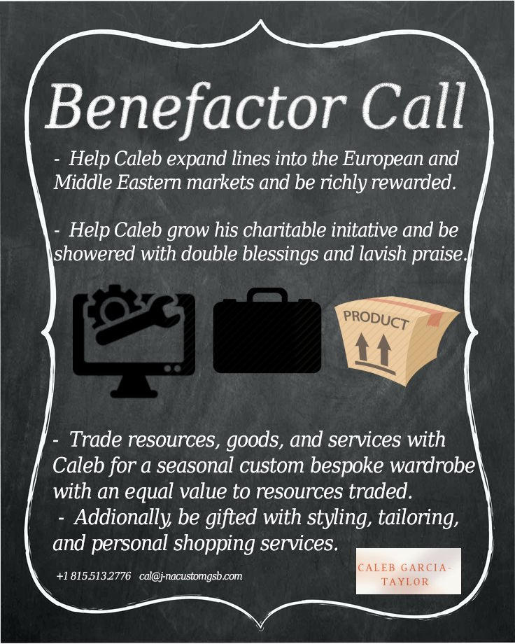 Call to collaborate with three fashion brands and one Cal.
