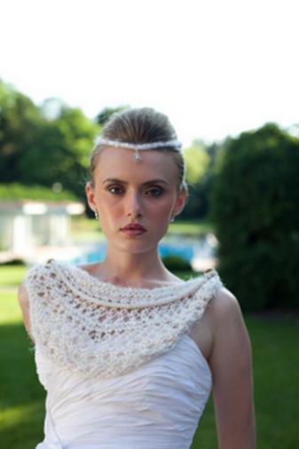 j-na couture bridal tiara Swarovski and pearl