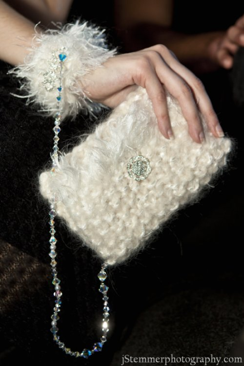 Fully Customizable Online! Swarovski Crystal Handcuff Clutch.