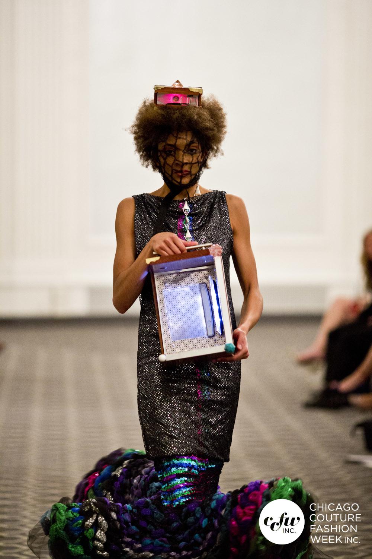 Moda del futuro. Acesorios 3D impresas con la moda y la tecnologia de J-na Couture.