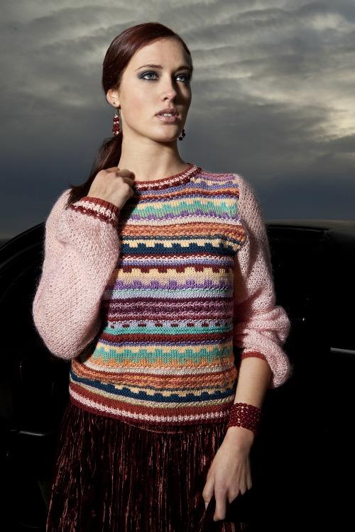 Maglione couture fatto a mano j-na couture 2012.